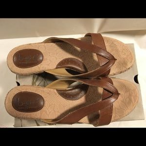 BOC ASIA cork wedge sandal